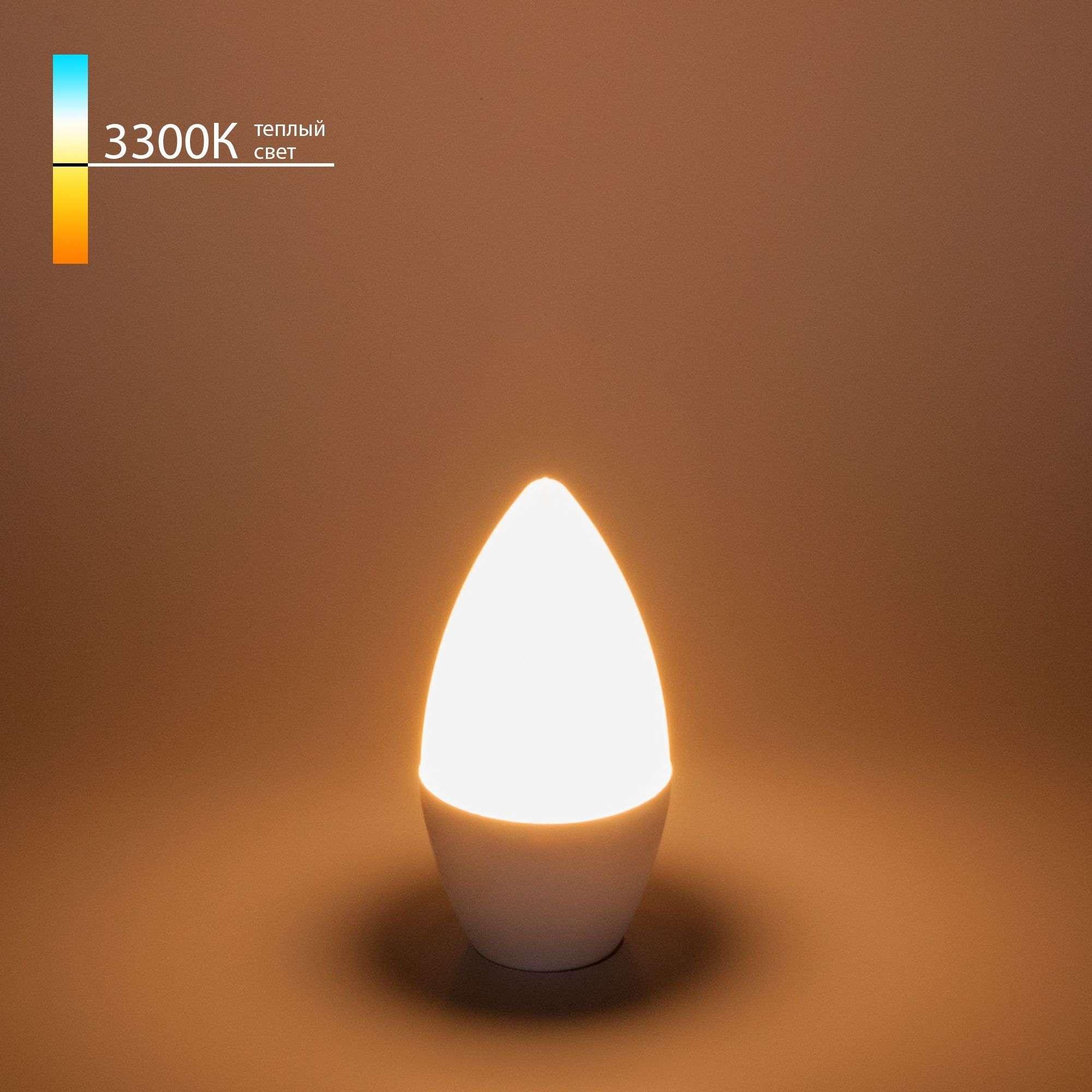 Светодиодная лампа Свеча