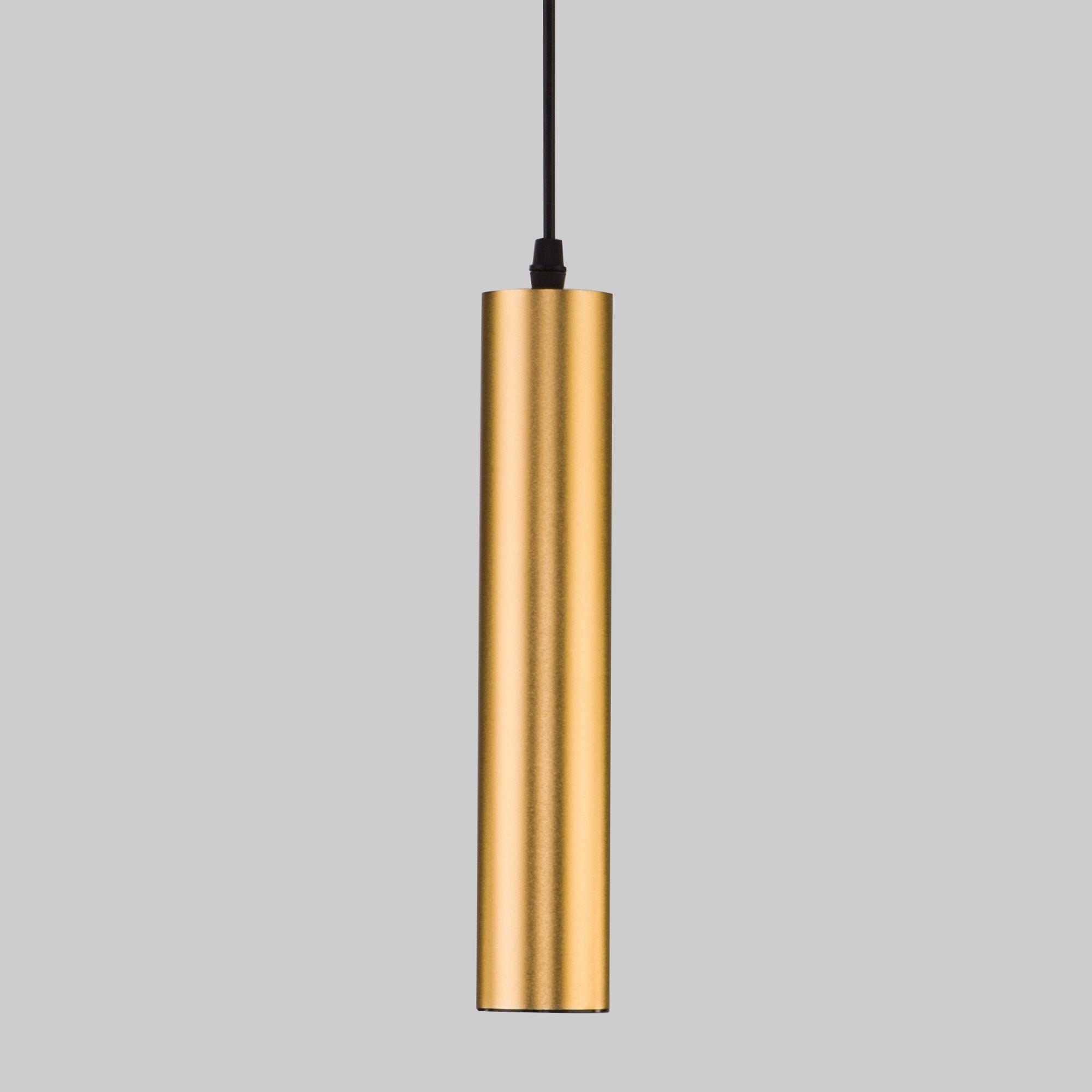 Светодиодный подвесной светильник 50161/1 LED золото