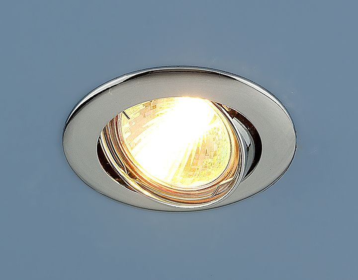 Точечный светильник встраиваемый 104S MR16 CH хром