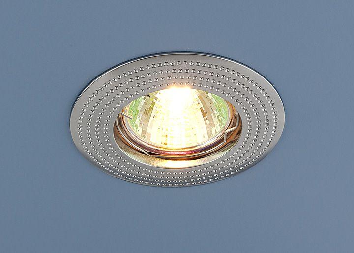 Встраиваемый точечный светильник 601 MR16 CH хром