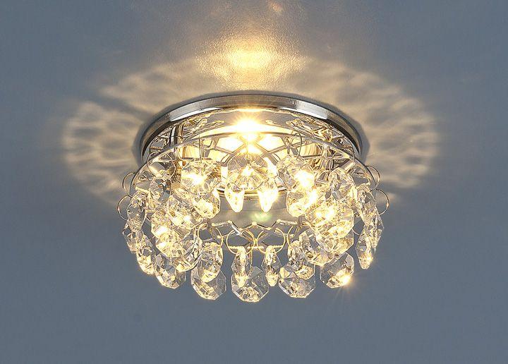 Встраиваемый точечный светильник 7070 MR16 СH/CL хром/прозрачный