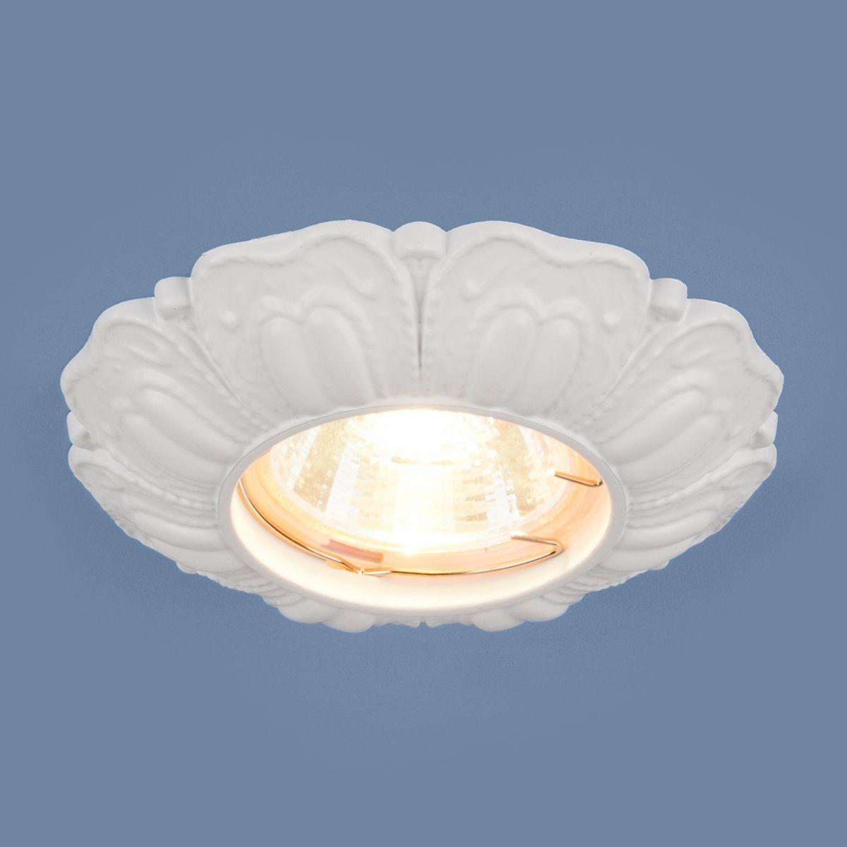 Встраиваемый точечный светильник 7215 MR16 WH белый