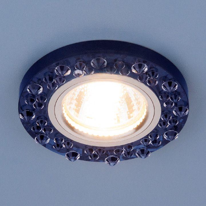 Встраиваемый точечный светильник 8260 MR16 SP/CH сапфир/хром