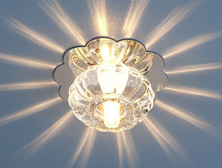 Встраиваемый точечный светильник 847 G4 CH/CL хром/прозрачный
