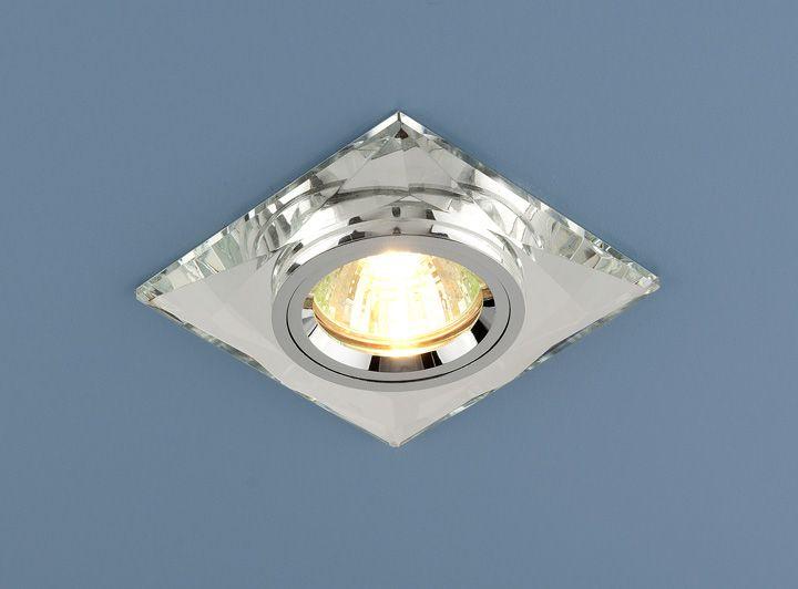 Встраиваемый точечный светильник 8470 MR16 SL зеркальный/серебро