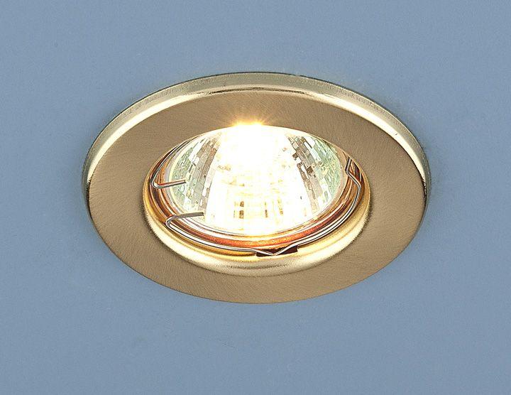 Встраиваемый точечный светильник 9210 MR16 SGD золото матовое