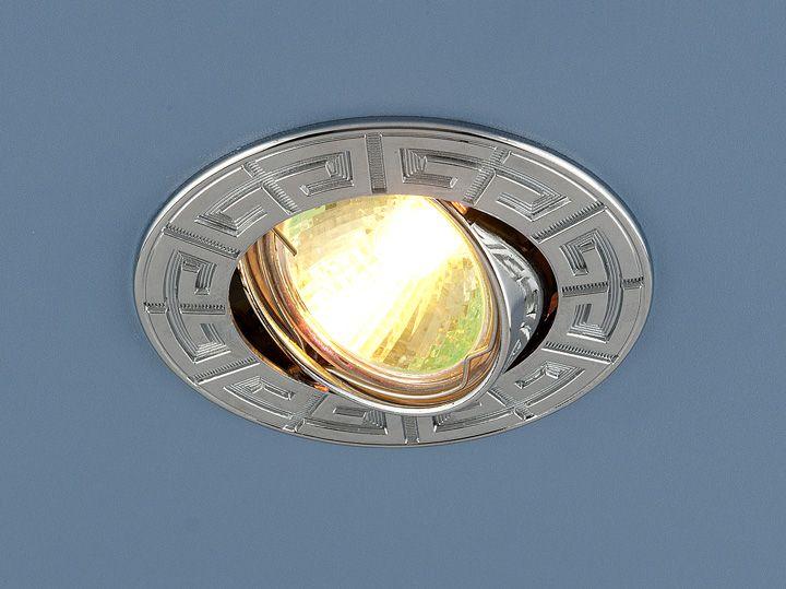 Встраиваемый точечный светильник 120090 MR16 CH хром