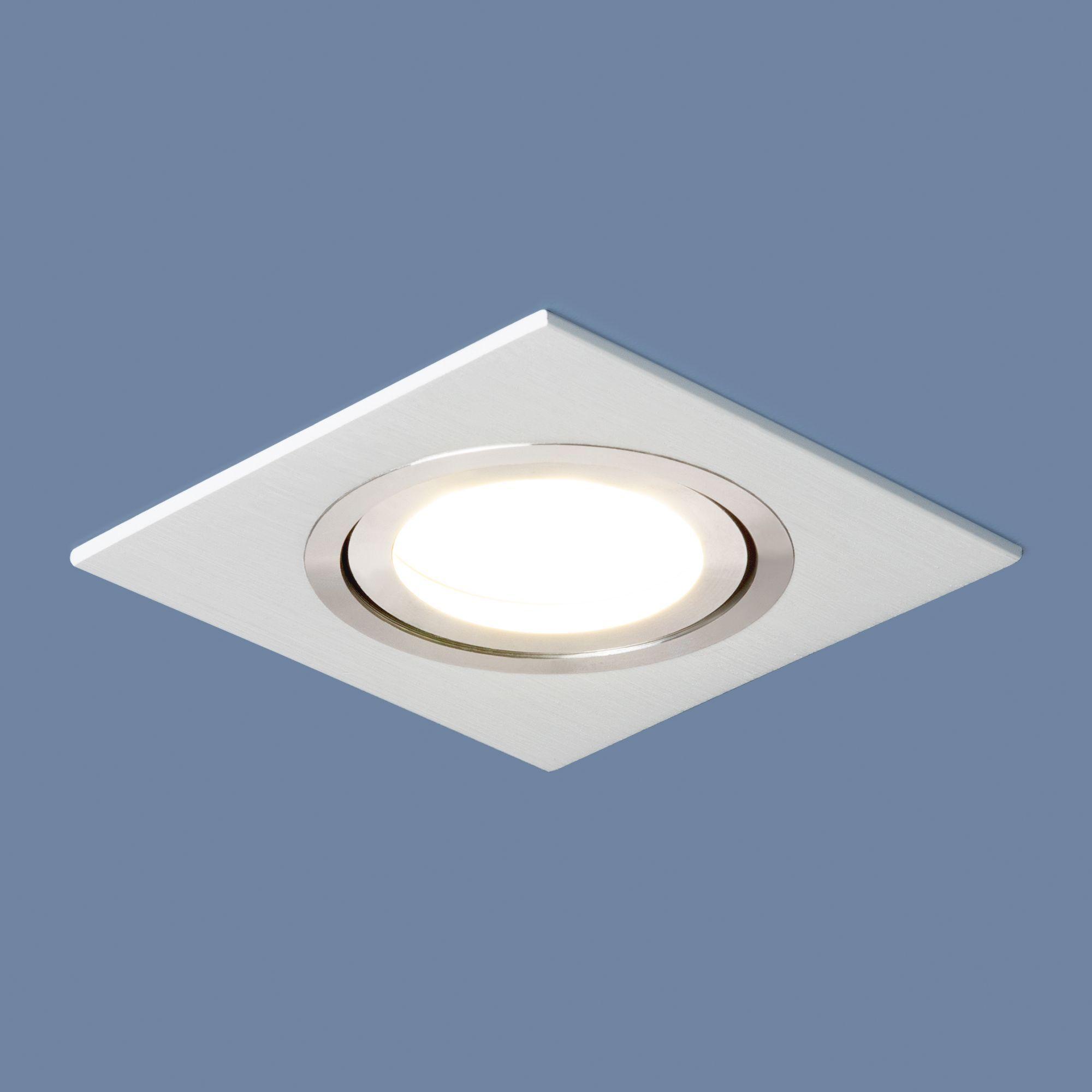 Точечный светильник поворотный 1051/1 WH белый
