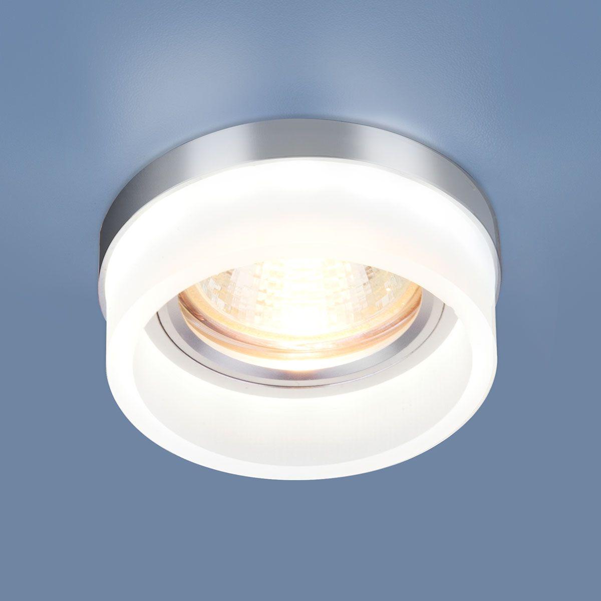 Точечный светильник с LED подсветкой 2205 MR16 MT матовый