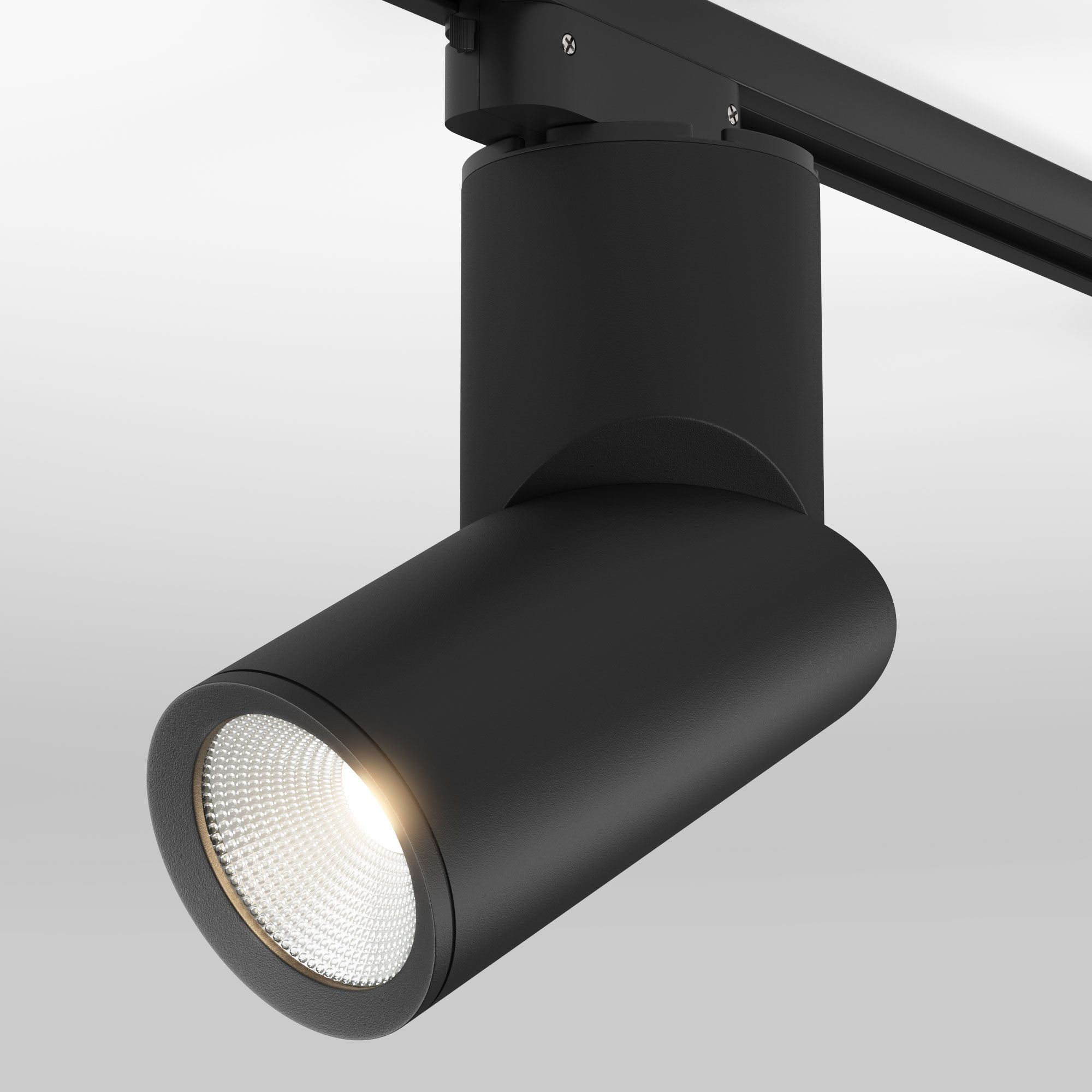 Трековый светильник для однофазного шинопровода Corner черный 15W 4200K (1 шт.) LTB33