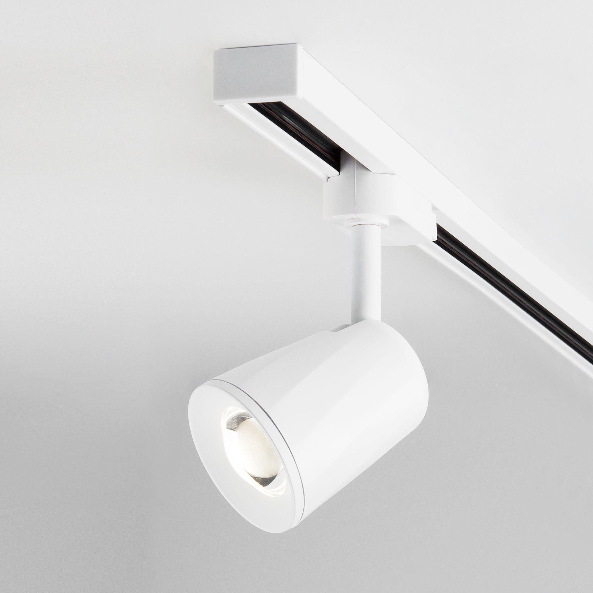 Трековый светодиодный светильник для однофазного шинопровода Joli белый 9W 4200K (1 шт.) LTB19