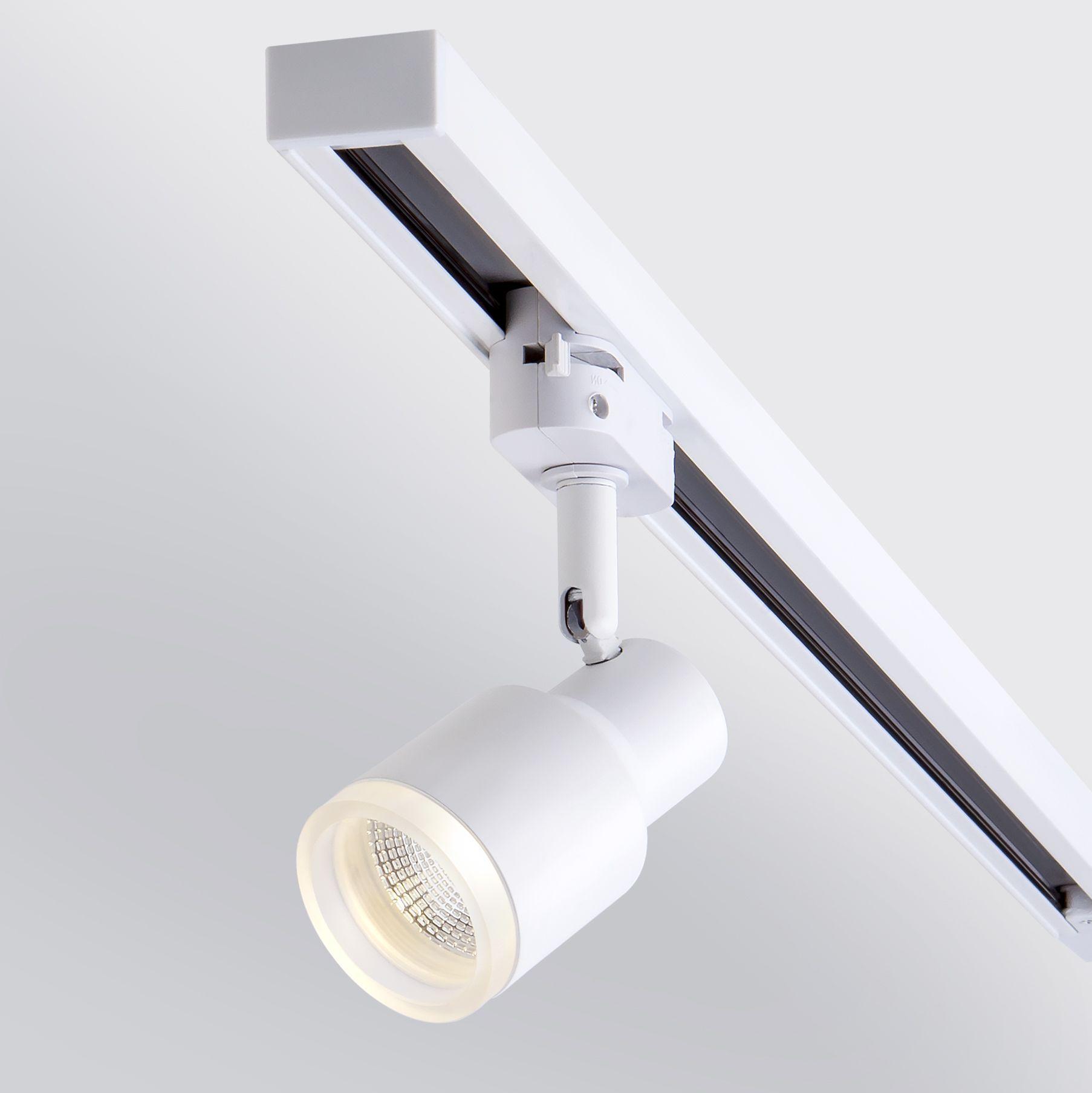 Трековый светодиодный светильник для однофазного шинопровода Molly белый 7W 4200K (1 шт.) LTB31