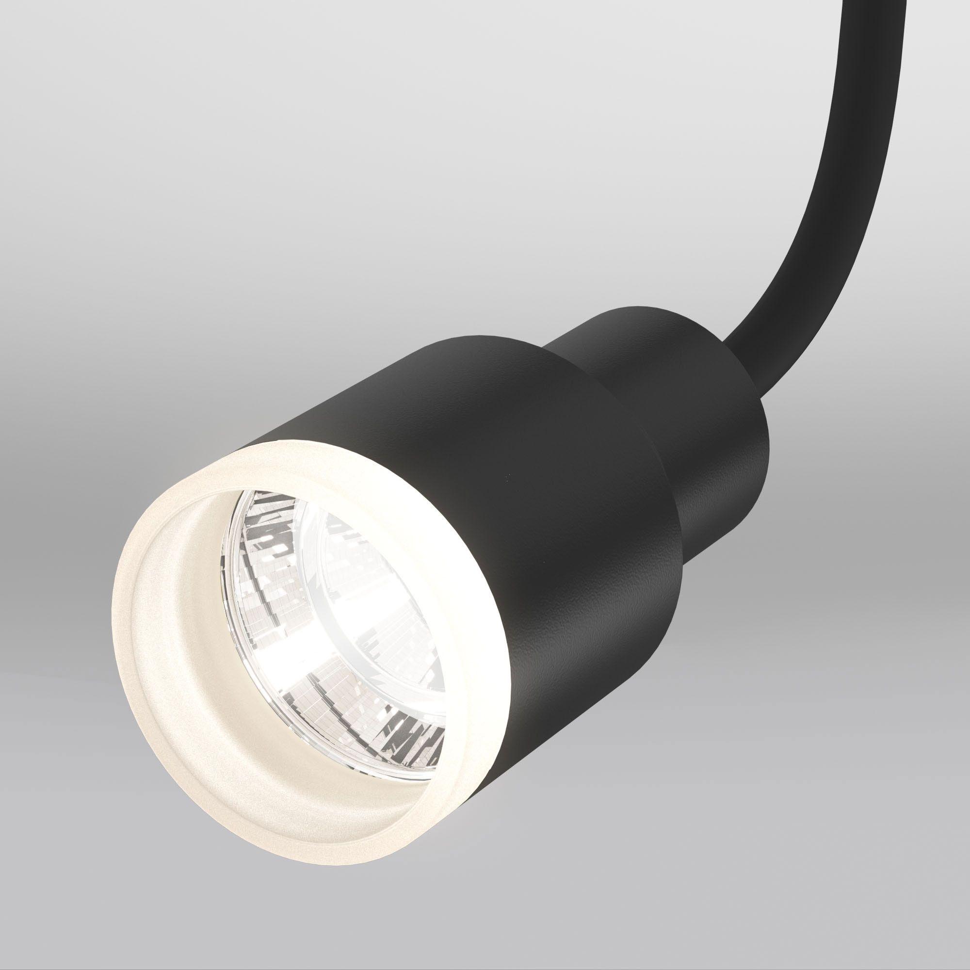 Трековый светодиодный светильник для однофазного шинопровода Molly Flex черный 7W 4200K (1 шт.) LTB3