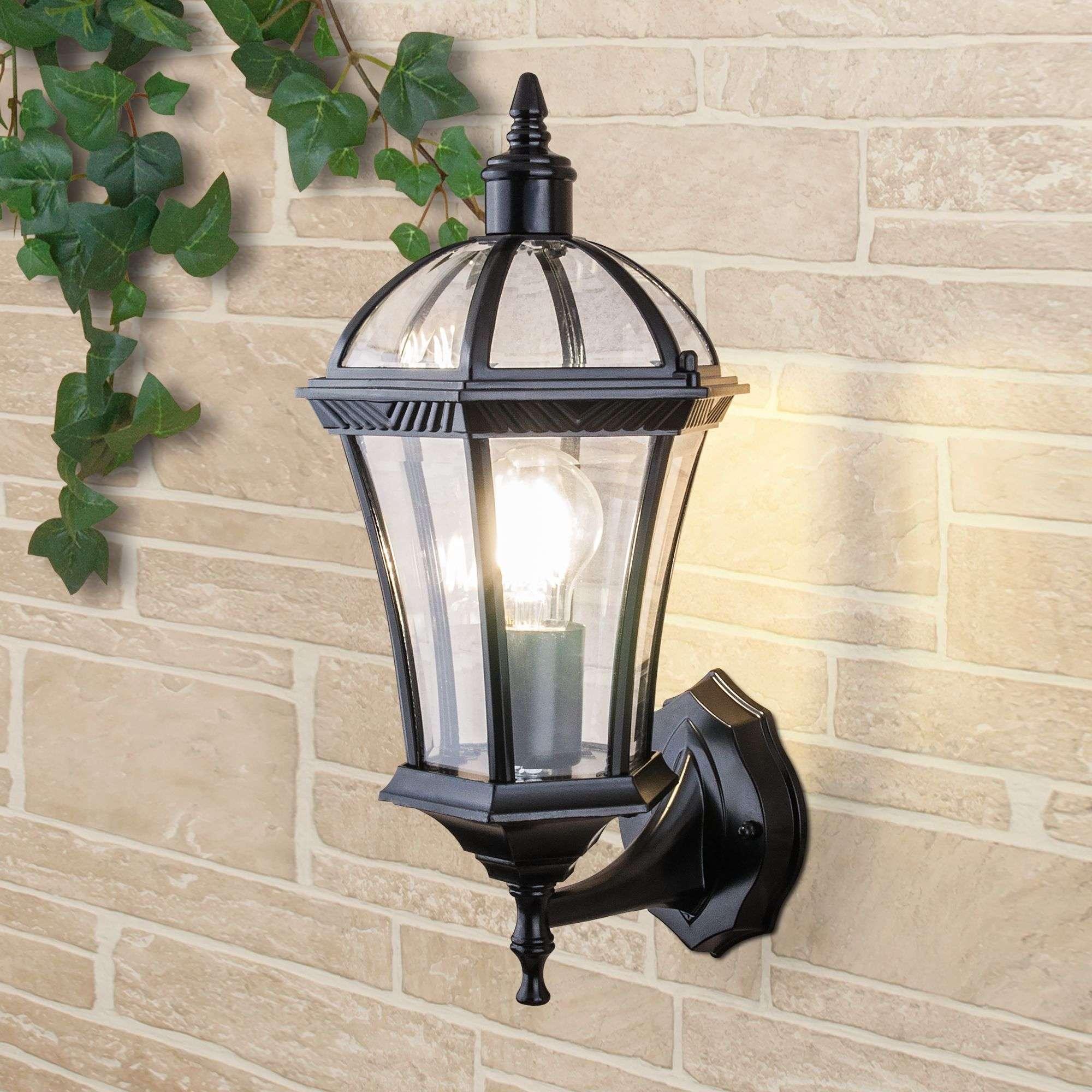 Уличный настенный светильник Capella черный IP44 Capella черный