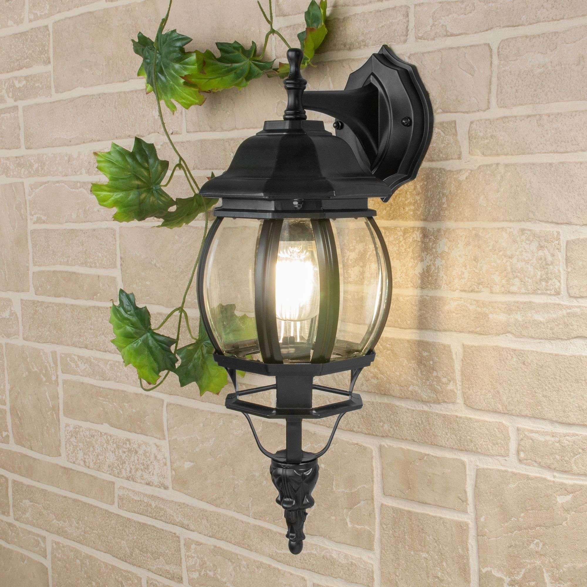 Уличный настенный светильник GL 1001D черный IP33 GL 1001D черный