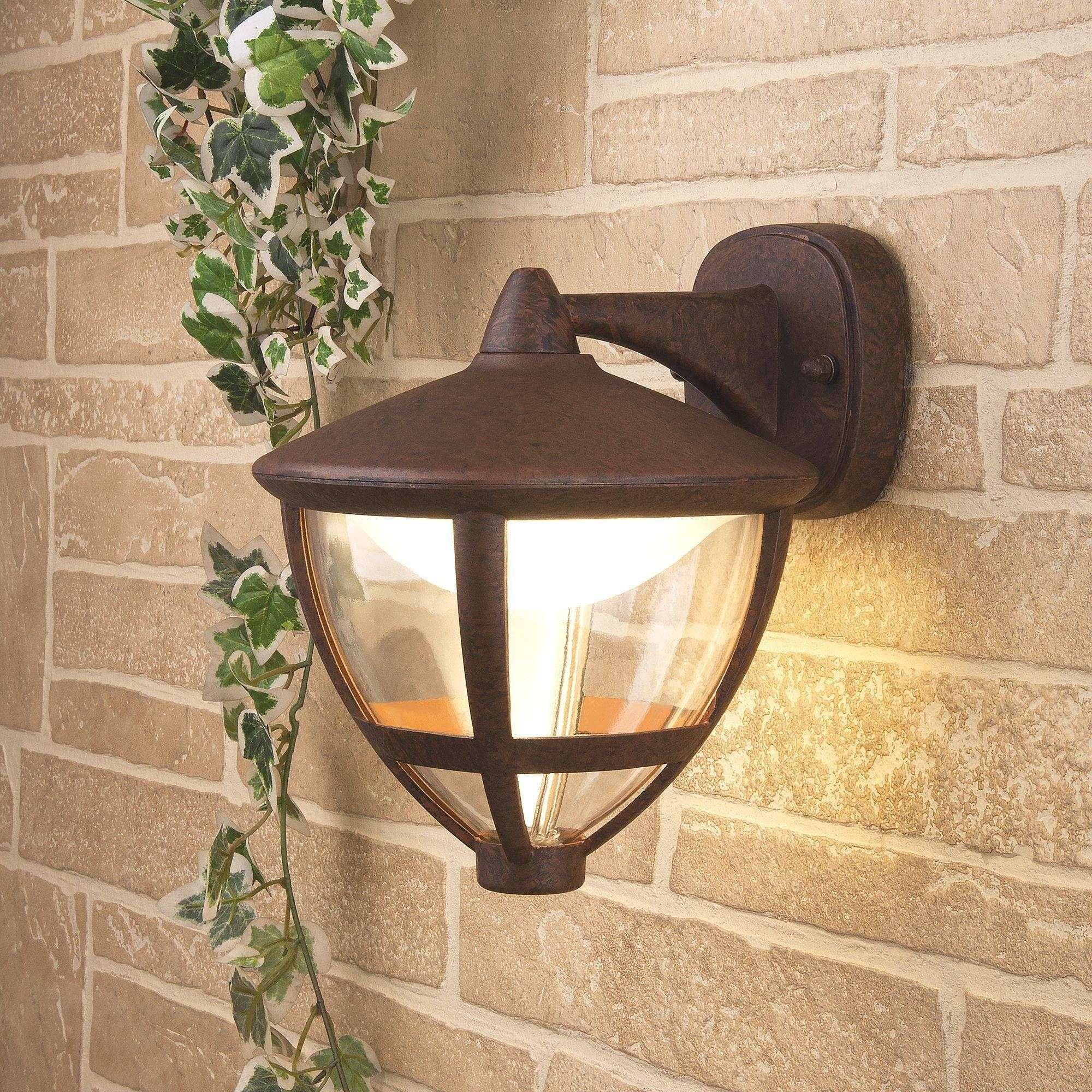 Уличный настенный светодиодный светильник Gala D брауни GL LED 3001D