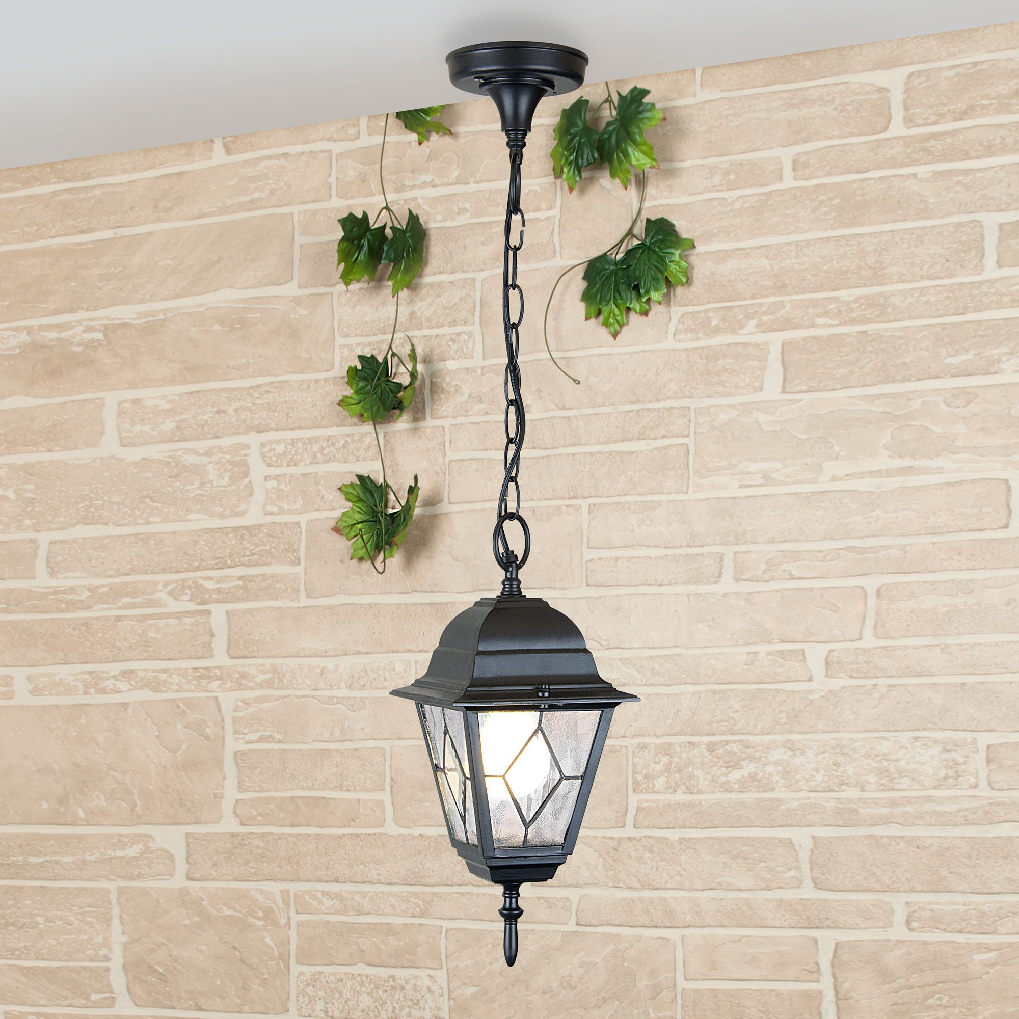 Уличный подвесной светильник Vega H черный IP44 Vega H черный